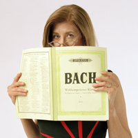 Professor Carol with Bach