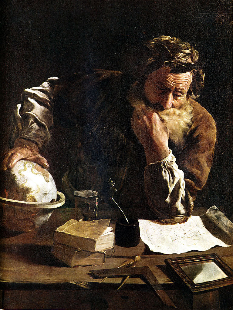 "Domenico Fetti ""Portrait of a Scholar"""