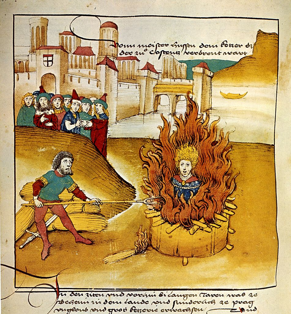 Spiezer Chronik Jan Hus (1485)