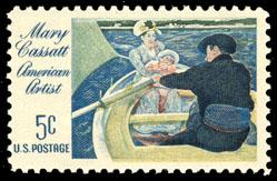 United_States_postage_stamp_honoring_Mary_Cassatt_(1966)